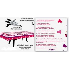 Bachelorette Party Range - Table Cover Game